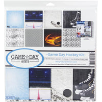 Reminisce Collection Kit - Game Day Hockey Kit