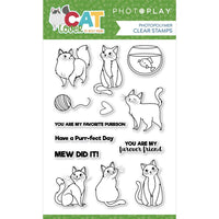 PhotoPlay Photopolymer Stamp - Cat Lover