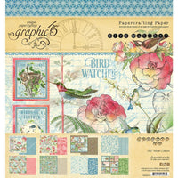 Graphic 45  - Double-Sided Paper Pad 8