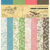 Graphic 45  - Double-Sided Paper Pad 12