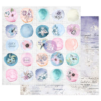 Watercolor Floral Double-Sided Cardstock 12
