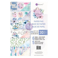 Prima Marketing Double-Sided Paper Pad A4 30/Pkg Watercolor Floral