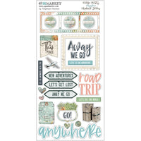 Vintage Artistry Anywhere Chipboard Stickers 6