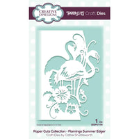 Creative Expressions - Paper Cuts Edger Craft Dies - Flamingo Summer
