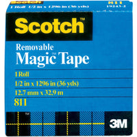 Scotch - Removable Magic Tape 0.5