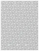 Creative Expressions - Ribbon Swirls Embossing Folder