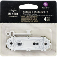 Prima Marketing - Vintage Memory Hardware - Avignon Lock and Key