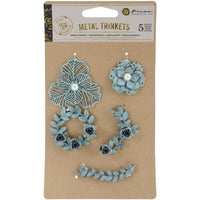 Prima Marketing - Metal Trinkets - Flowers & Vines