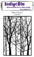 IndigoBlu - Bare Forest - A6 Cling Mounted Stamp