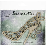 Scrapaholics - Flourish Stiletto Chipboard Embellishment