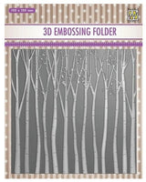 Nellie - 3D Embossing Folder - Trees EF3D013