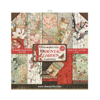 Stamperia - Oriental Garden - Double-Sided Paper Pad 8