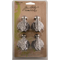 Tim Holtz - Idea-ology Metal Foundations - Box Feet 1.5