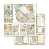 "Stamperia - Imagine 12""x12"" Paper Pack - 22 Designs, 1 of Each"