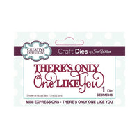 Creative Expressions - There's Only One Like You - Metal Die