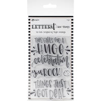 Ranger - Letter It Clear Stamps - You Rock