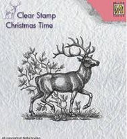 Nellie's Choice - Reindeer Clear Stamp