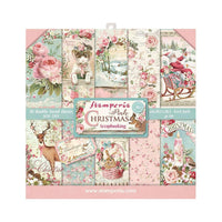 Stamperia - Pink Christmas Paper Pad 8