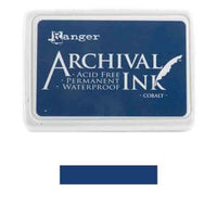 Ranger Mini Archival Ink Pads  - Cobalt