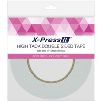 X-Press It High Tack Double-Sided Tissue Tape 1/4 Inch - Class Act Scrapbooking