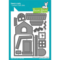 Lawn Fawn - Build A House Metal Die Set