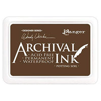 Ranger Mini Archival Ink Pads  - Potting Soil