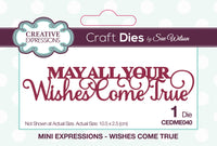 Creative Expressions - Mini Expressions Collection - Wishes Come True - CEDME040