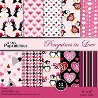 Papericious Designer Edition Paper Pack - Penguins in love 6