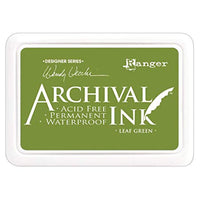 Ranger Mini Archival Ink Pads  - Leaf Green