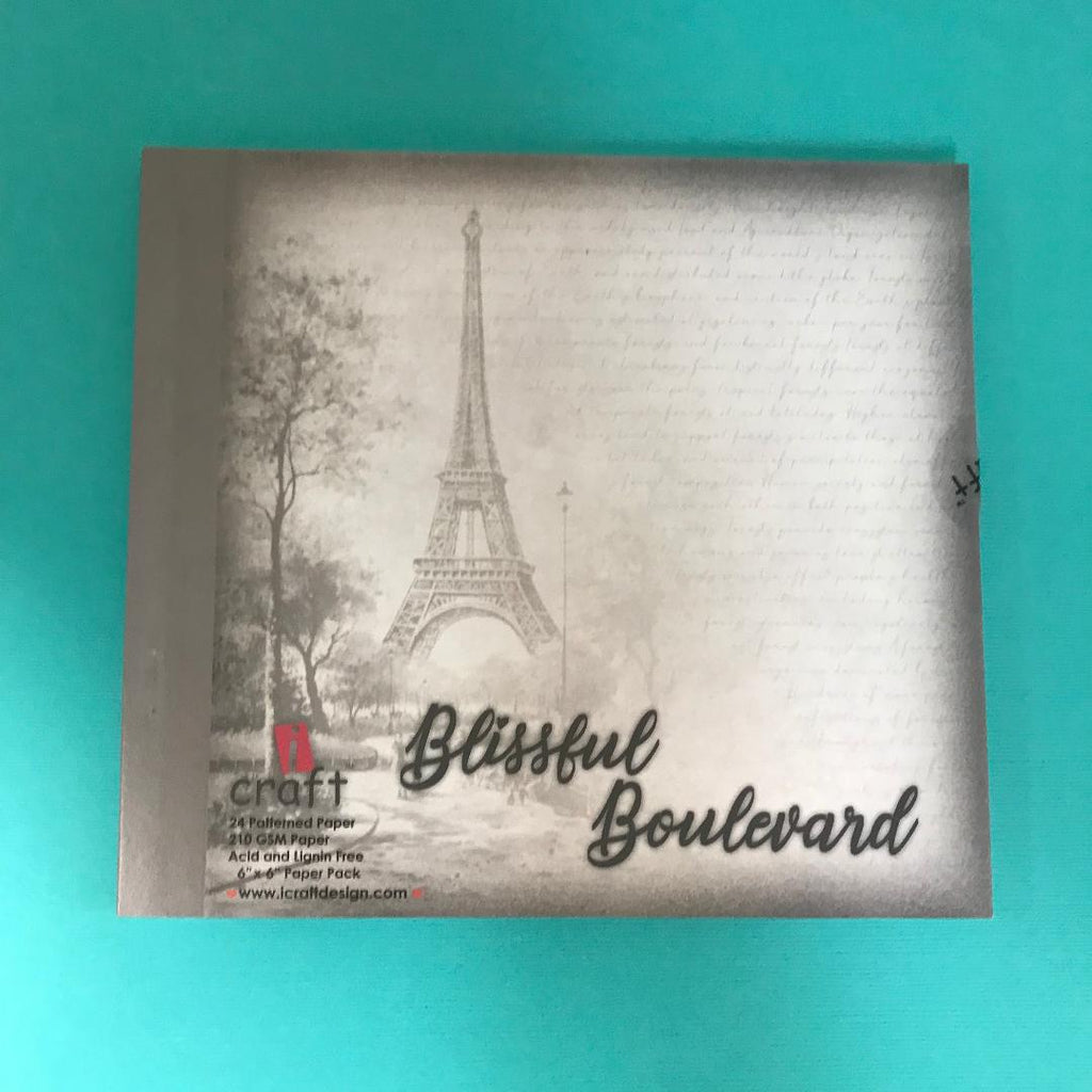 "ICraft Paper Collection - Blissful Boulevard 6""x6"""