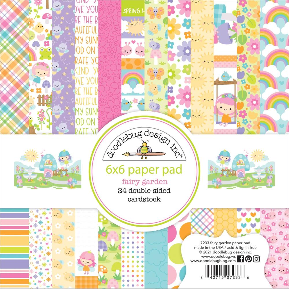 "BoBunny -  Sweet Clementine - Single-Sided Paper Pad 6""X6"" 36/Pkg"