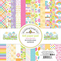 BoBunny -  Sweet Clementine - Single-Sided Paper Pad 6
