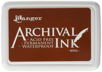 Ranger Mini Archival Ink Pads  - Sepia