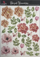 ICraft Add On Element Sheet - Floral Beauties