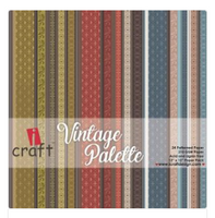 ICraft Paper Collection - Vintage Palette 8