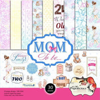 Papericious Designer Edition Paper Pack - Mom to Be 6