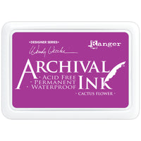 Ranger Mini Archival Ink Pads  - Cactus Flower