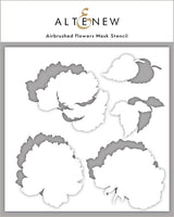 Airbrushed Flowers Stencil Set - Altenew