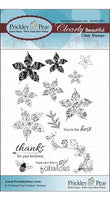 Prickley Pear - Spring Poinsettias Clear Stamp Set CLR031