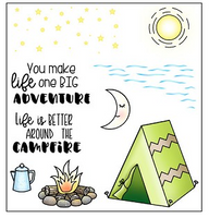 Darcie's Clear Polymer Stamp Set - Great Outdoors Accessories - POL393