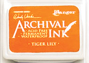 Ranger Mini Archival Ink Pads  - Tiger Lily