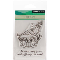 Penny Black Clear Stamps - Cup Of Java