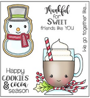 Darcie's Clear Polymer Stamp Set - Sweet Friends - POL407