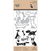 Momenta Die & Stamp Set - Dogs