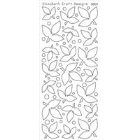 Elizabeth Craft Designs - Velvet - Dark Green Leaves ECD - 3001