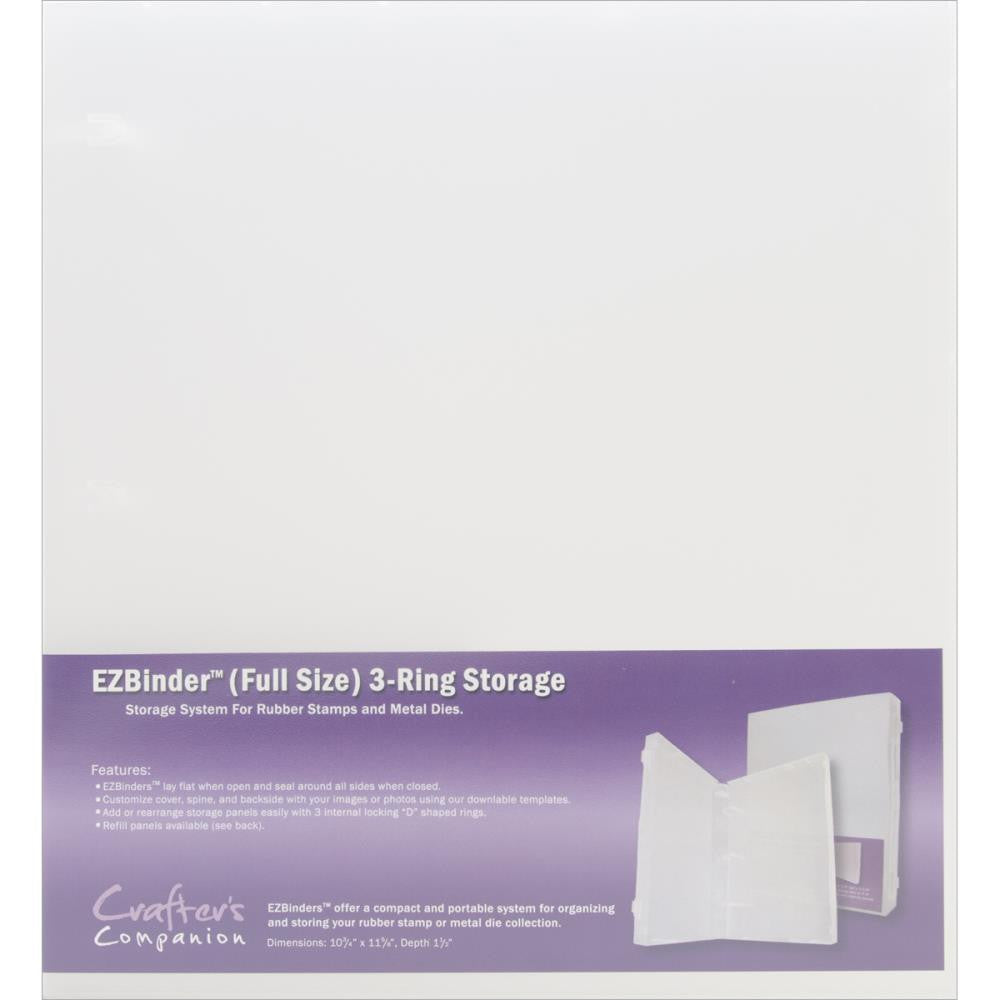 EZbinder 3-ring Storage Binder