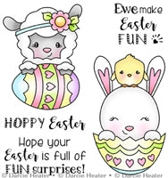 Darcie's Clear Polymer Stamp Set - Easter Surprises - POL420