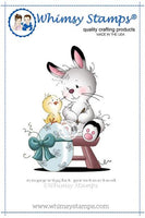 Whimsy - Cling Rubber Stamp - Easter Bunny - SZWS119
