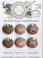 Darcie's - Tin Pins - DHD481 - Figgy Pudding