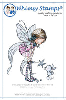Fairy Friends - MF100 - Rubber Stamp